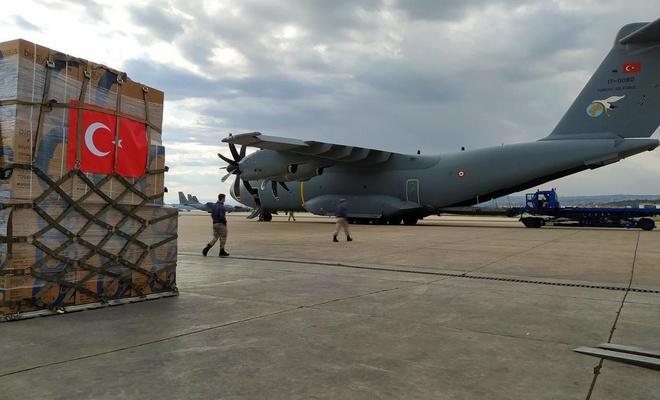 Türkiye Çad'a uçakla tıbbi malzeme ile ambulans gönderdi
