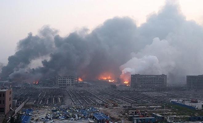 Çin`de askeri fabrikadaki patlama: 12 ölü