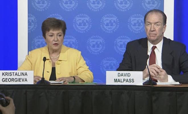 IMF ji bo micadeleya li dijî Covid-19  50 milyar dolar veqetand