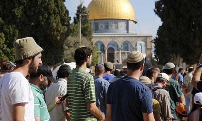 Yüzlerce Yahudi`den Aksa`ya baskın!