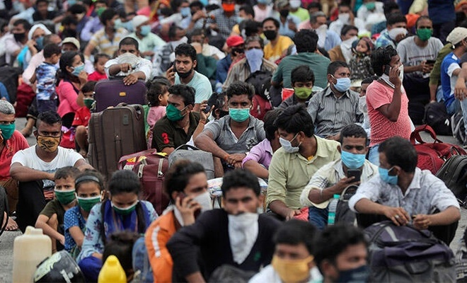 Korona kabusu sürüyor! Hindistan, ölümlerde Çin'i geçti