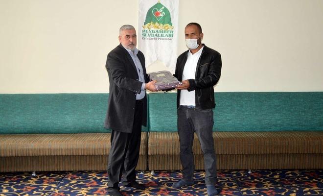 Siyer Yarışmasında başarılı olan öğrencilere ödülleri dağıtıldı