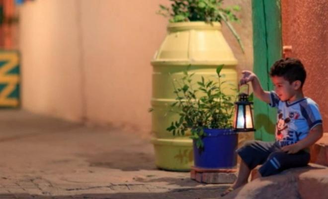 Gazzeli çocukların kandilli Ramazan sevinci