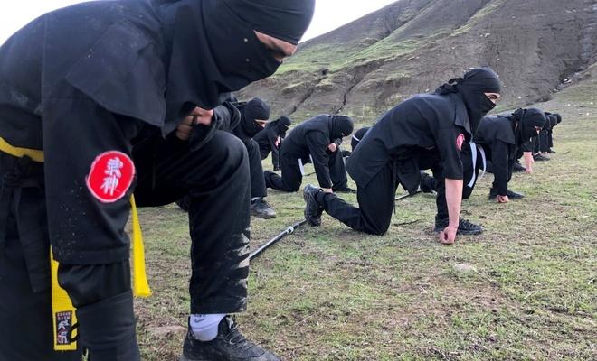 Erbil'in Kürt ninjaları