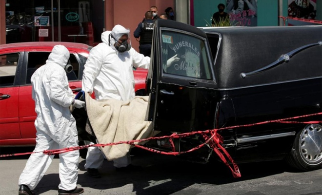 Meksika'da Covid-19 nedeniyle ölenlerin sayısı 13 bin 511'e yükseldi