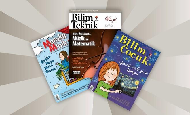 TÜBİTAK dergileri ücretsiz erişime açıldı