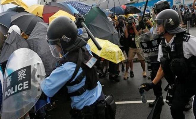 """ABD'den """"Hong Kong'a destek"""" tasarısı"""