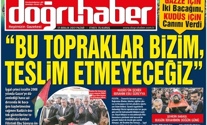"""""""BU TOPRAKLAR BİZİM, TESLİM ETMEYECEĞİZ"""""""