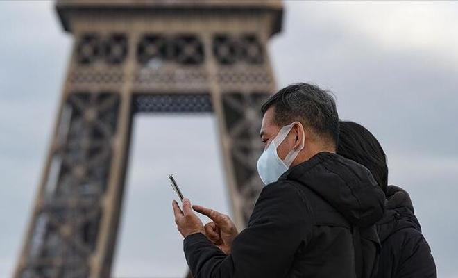 Fransa'da vaka sayısı son 24 saatte 20 bin 468 arttı