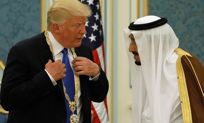 Alçak Suudi rejiminden Yüzyılın Anlaşması'na destek
