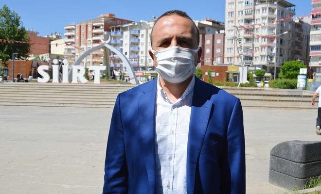 Diyanet-Sen Siirt Şube Başkanı Evin'den aşı çağrısı