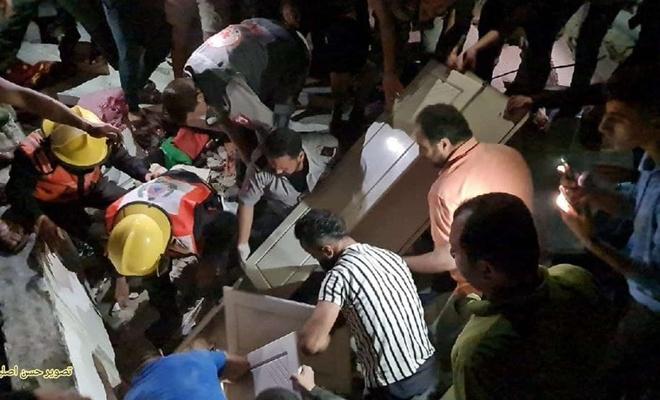 Siyonist işgal rejimi Gazze'de katliam yapıyor