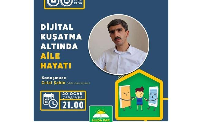 """HÜDA PAR İstanbul İl Başkanlığından """"Dijital Kuşatma Altında Aile Hayatı"""" semineri"""
