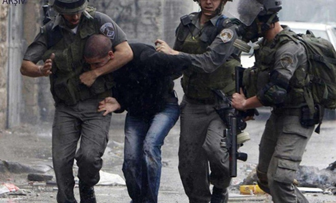 Kudüs Araştırmalar Merkezi: Siyonist işgal rejimi nisan ayında 298 Filistinliyi esir aldı