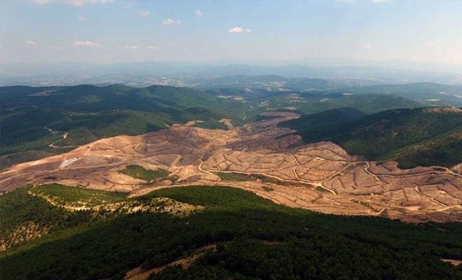 Çanakkale'deki altın ve gümüş madeni arama çalışmaları