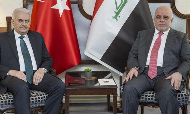 Başbakan Yıldırım ile İbadi görüştü