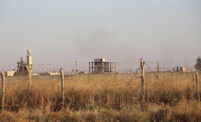 Suriye tarafından taciz ateşi yapıldı