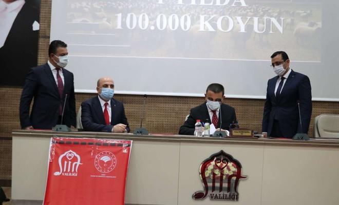 """Siirt'te """"Köyümde Yaşamak İçin Bir Sürü Nedenim Var"""" projesinin protokolü imzalandı"""