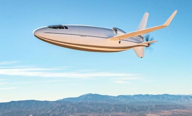 Mermiye benzeyen uçak Celera 500L tanıtıldı