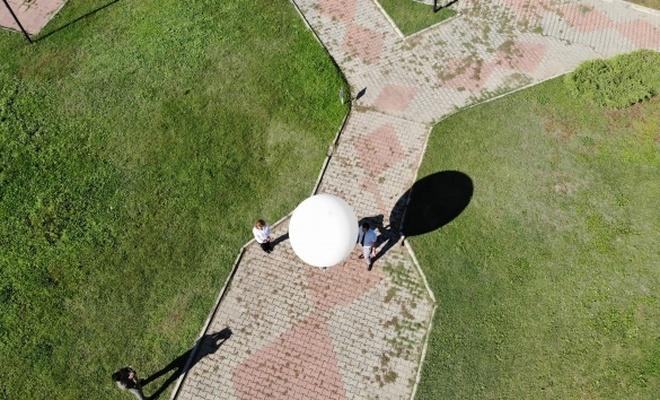 Bu balonlar havayı tahmin ediyor