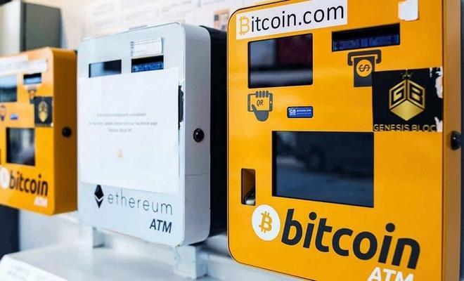 Bitcoin ATM'lerinin sayısı 18 bini geçti