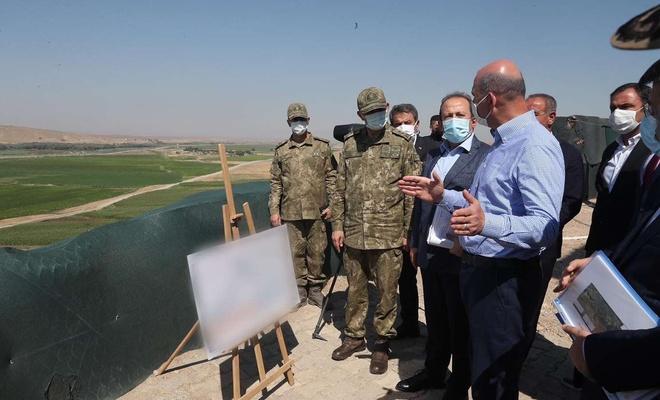 İçişleri Bakanı Soylu'nun Şırnak ziyareti sürüyor