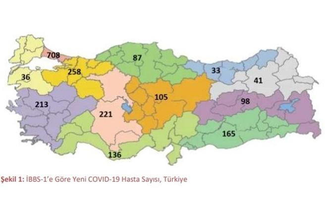 Sağlık Bakanlığı'nın haftalık  coronavirüs raporu açıklandı