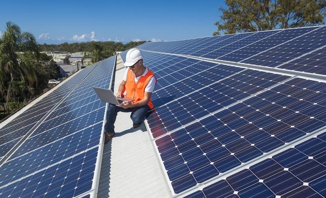 Sürdürülebilir malzemeden ikili güneş pili