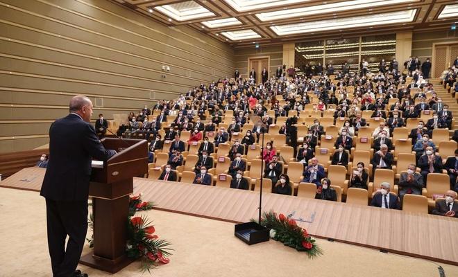 """Cumhurbaşkanı Erdoğan: """"Medyamızın yüz akları milleti aşağılayan mankurtlar değildir"""""""
