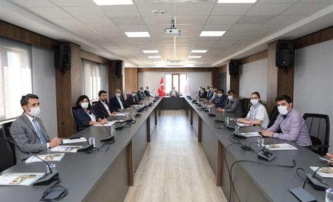Mardin'de yüz yüze eğitim öncesi koordinasyon toplantısı yapıldı