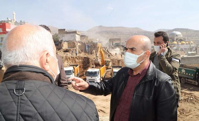 Mardin Valisi Demirtaş'ın ilçe ziyaretleri sürüyor