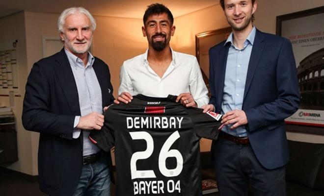 Kerem Demirbay, 28 milyon euro'ya Bayer Leverkusen'de