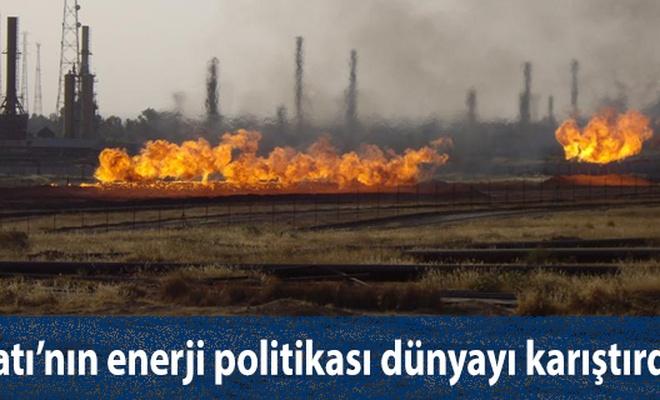 Batı`nın enerji politikası dünyayı karıştırdı