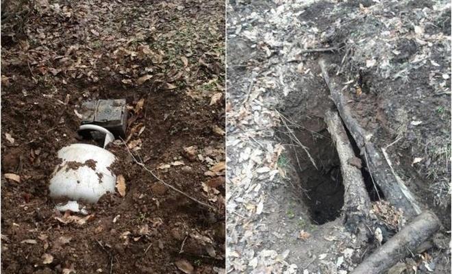 Bitlis'te tespit edilen sığınak ve patlayıcı imha edildi