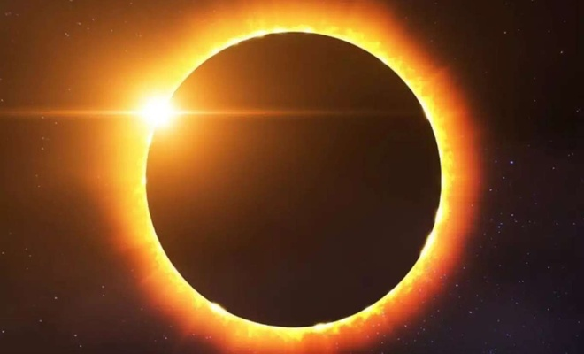 Ateş Çemberi Güneş Tutulması bugün gerçekleşecek