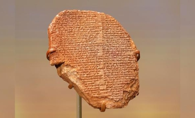 """3 bin 500 yıllık """"Gılgamış Rüya Tableti""""ni Irak'ta"""