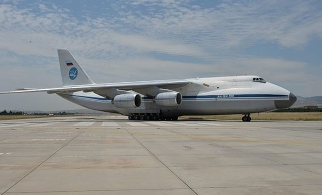 S-400'lerin sevkiyatı devam ediyor, 15'inci uçak Mürted'e indi