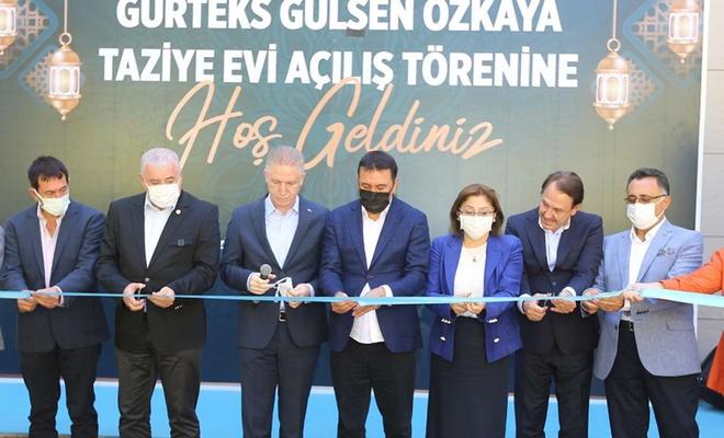 Gaziantep'te hayırsever aile tarafından yaptırılan taziye evi açıldı