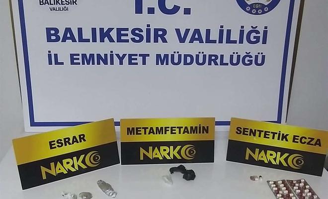 Balıkesir'de uyuşturucu operasyonu 10 gözaltı