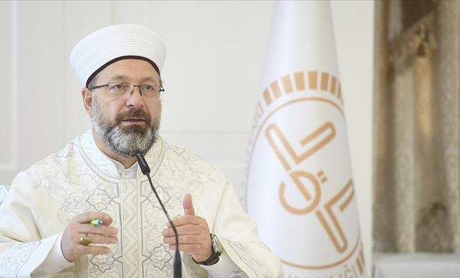 Diyanet İşleri Başkanı Erbaş Kovid-19 sürecinde sigarayla mücadele çağrısında bulundu
