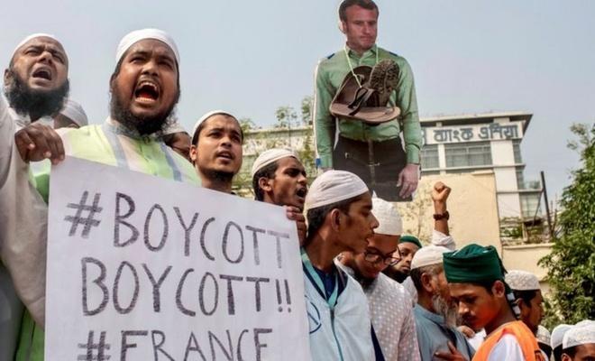 Bangladeşli siyasetçi Ataurrahman: Macron şeytana tapan biri!