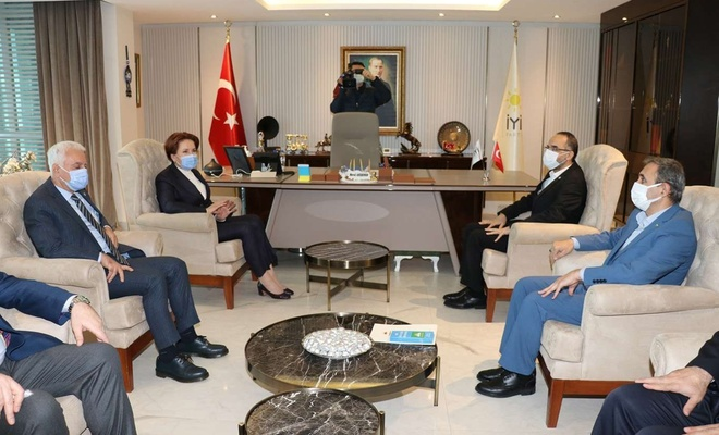 HÜDA PAR Chairman Sağlam pays a visit to Good Party