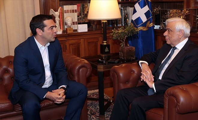 Yunanistan Başbakanı Çipras'tan erken seçim talebi