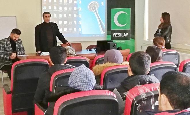 Yeşilay'dan okullarda bağımlılık eğitimi