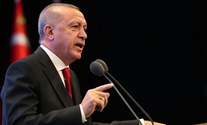 Erdoğan toplantı sonrası açıklamalarda bulundu