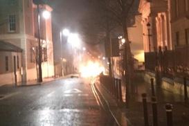 Kuzey İrlanda`da patlama