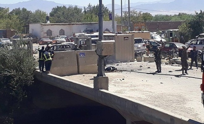 Afganistan Cumhurbaşkanı mitingine bombalı saldırı: 24 ölü