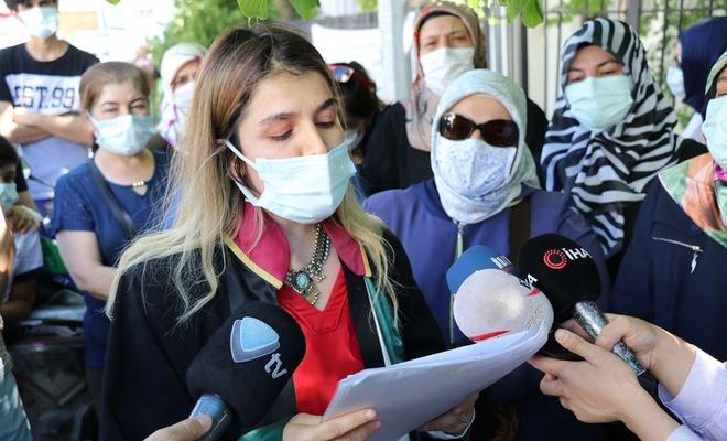  İnşaat firmasına yapılan operasyonun ardından mağdurlar ve avukatlarından basın açıklaması