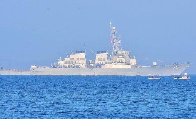 ABD, Ukrayna'ya destek için Karadeniz'e savaş gemisi gönderiyor