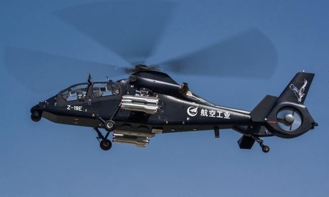 Çin`in yeni askeri helikopteri
